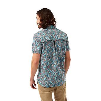 Craghoppers Mens NosiLife Calhoun Short Sleeve Walking Shirt