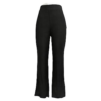 Laurie felt mujeres's pantalones fusible modal pull-on negro A391129