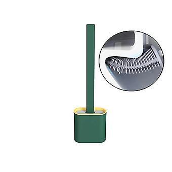 Suporte de escova de vaso sanitário de silicone