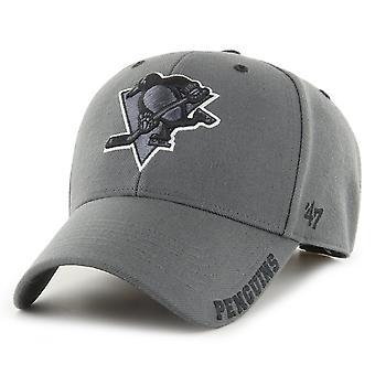 47 Brand Justerbar Cap DEFROST Pittsburgh Penguins trækul