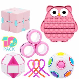 Stress Relief Toys Sensory Fidget Toys Set Nieuwe Stijl Set