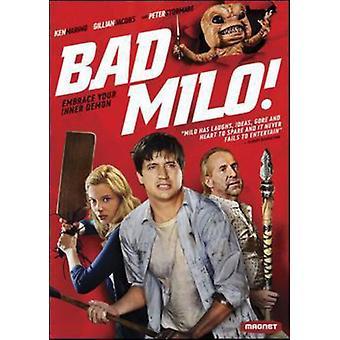 Bad Milo! [DVD] USA import