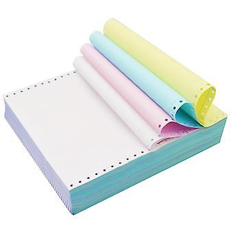 Color Computer Continuous Print Carbonless Paper