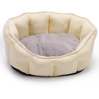 Pet Winter Bed With Warmth Plush