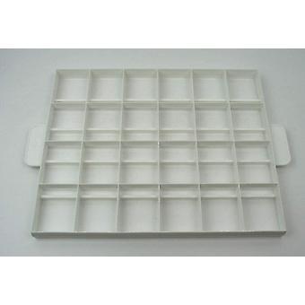 FengChun Stdter Tortenteiler, Kunststoff, Wei, 36 x 30 cm