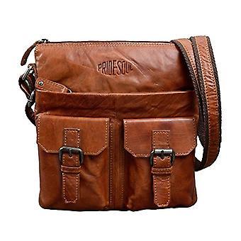 Pride and Soul postbag Lilly Little Bag, 28 cm, 2 L, Cognac