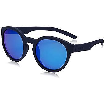 Polaroid PLD 8019/S JY Sunglasses, Blue (Rubber Blue/Grey), 45 Unisex-Children