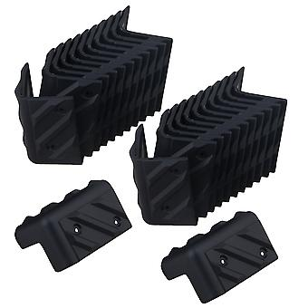 High-quality Plastic Professional Stage Speaker Wrap Angle Set of 24