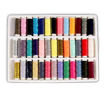 New 39 Color Household Sewing Kit Stitching Stitch Needle Thread Storage Bag ES9858