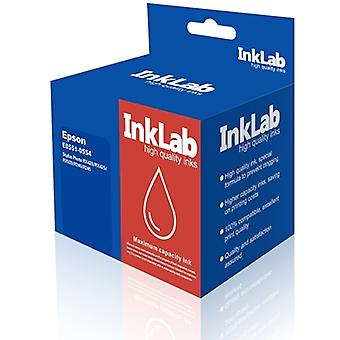 InkLab 551-554 Epson Compatible Multipack Replacement Ink