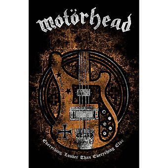 Motorhead - Affiche textile De Lemmy's Bass