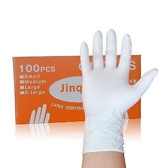 Mustat nitriilinitriilikäyttöiset käsineet