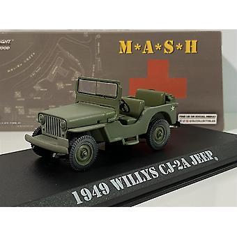 M*A*S*H 1949 Willys Jeep CJ-2A 1972-83 TV-serie 1:43 Skala Grönljus 86592