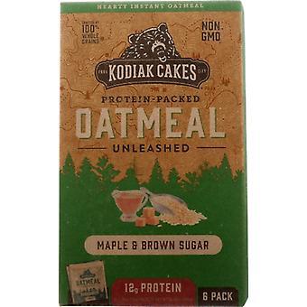 Kodiak Oatmeal Mpl Brwn Sgr, Case of 6 X 10.58 Oz