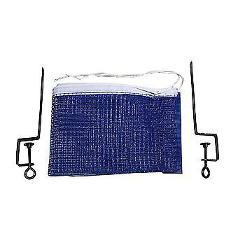 Table Tennis Portable Net Frame Tool Set Simple Net Rack Bracket Combination Set(blue)