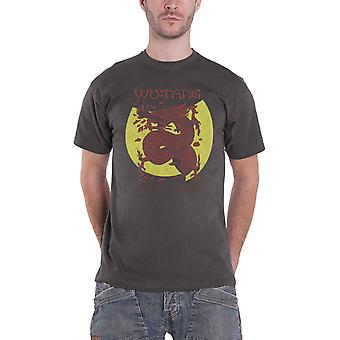 Wu Tang Clan T Shirt Inferno Logo new Official Mens Charcoal Grey