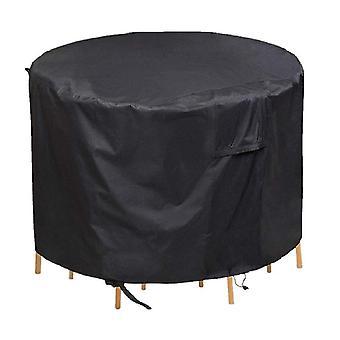 Ronde meubels stofdichte en waterdichte hoes, tuintafelmeubels beschermend