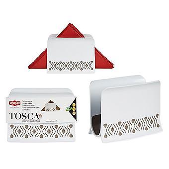 Napkin holder Tosca Beige Plastic