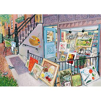 Ravensburger Art Gallery Jigsaw Puzzle (1000 Pieces)