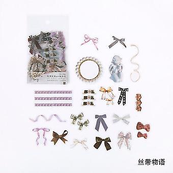 Ginkgo Feuilles Fleurs Pet Sticker Package