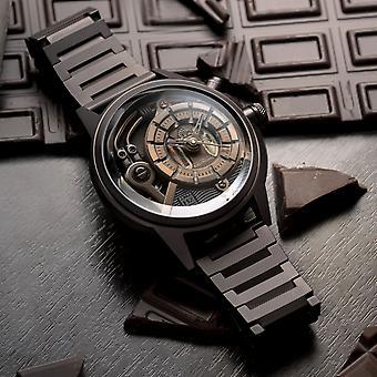 The Electrcianz The Brown Z Metal Zz-a4c/01 Men's Watch