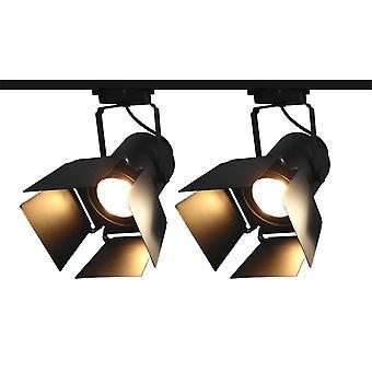 Thrisdar 45w Retro Industrial Led Track Lamp..