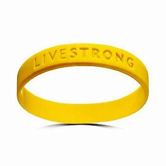 Silicone Wristband Power Rubber Bracelets -teens Concave Bangles Outdoor