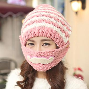 Cycling Cold Mask Knitted Hat