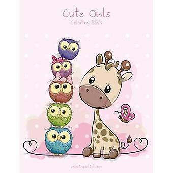 Cute Owls Coloring Book 1 (Cute Owls)