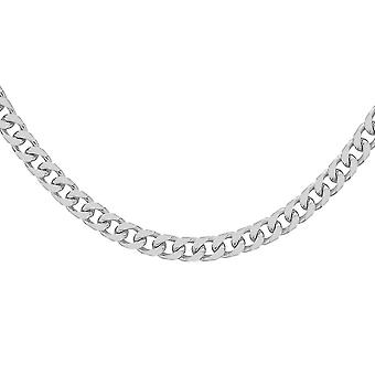 Rhapsody Platinum High Finish Obrubník řetízek náhrdelník pro ženy pro manželku velikost 20 ''