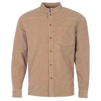 Barbour White Label Cord Newbury Shirt - Sandstone