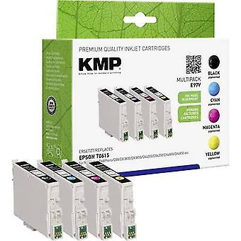 KMP de tinta sustituye Epson T0611, T0612, T0613, T0614 Compatible conjunto negro, ciánico, Magenta, amarillo E97V 1603,0005