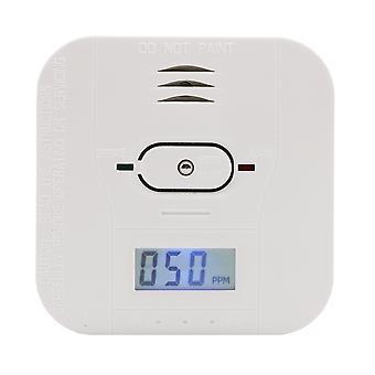 3 En 1 monoxyde de carbone /température /dépector de fumée avec écran lcd