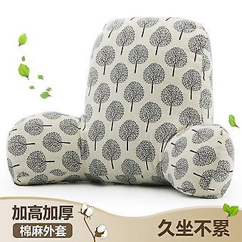 Taille Kissen Büro Baumwolle Leinen Kissen Stuhl Sofa Rücken & Lendenwirbelstütze Kissen