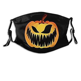 Halloween Pumpkin Head Mask Horror Funny Mask