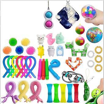 Sensory Decompression Toy Set Puzzle Diy Combination Toys -12