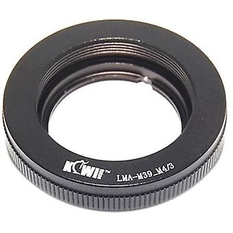 Kiwifotos Lens Mount Adapter: Allows Leica M39 thread mount (39mm x1) lenses to be used on any Micro Four Thirds System Body