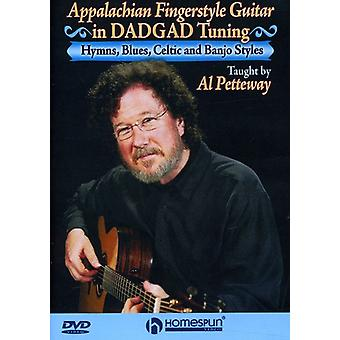 Appalachian Fingerstyle Guitar in Dadgad Tuning [DVD] USA import
