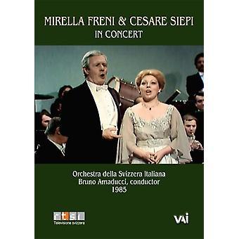 Mirella Freni & Cesare Siepi in Concert [DVD] USA import