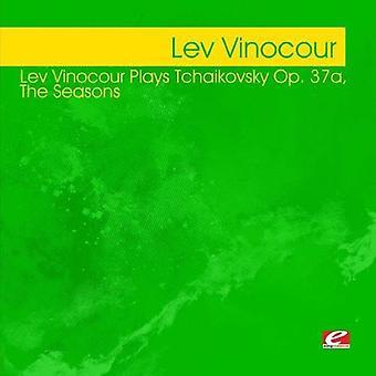 Lev Vinocour - Lev Vinocour Plays Tchaikovsky Op. 37 [CD] USA import