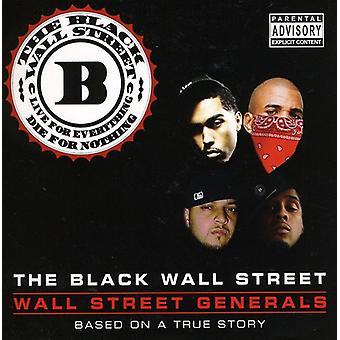 Black Wall Street - Wall Street Generals [CD] USA import