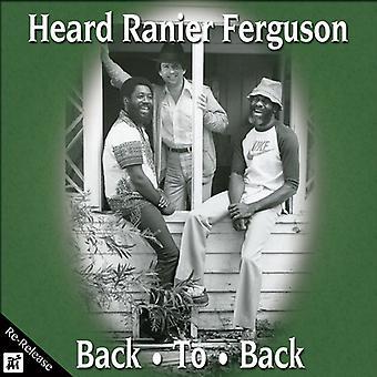 Heard Ranier Ferguson - Back to Back [CD] USA import