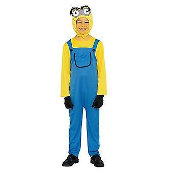 Yellow male costume yellow dwarf one eye children