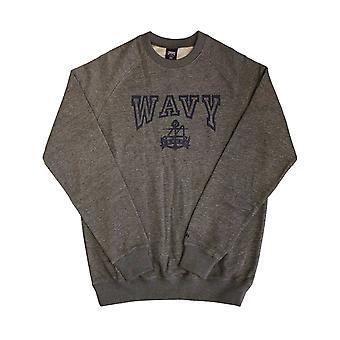 Crooks & Castles Wavy Sweatshirt Speckle Grey