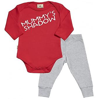 Verwend rotte Mummy's Shadow Babygrow & Baby Jersey broek Outfit Set