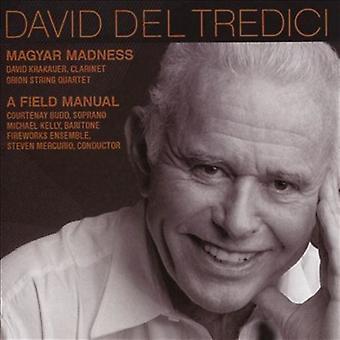 David Krakauer (Clarinet) Orion String - Del Tredici: Magyar Madness [CD] USA import