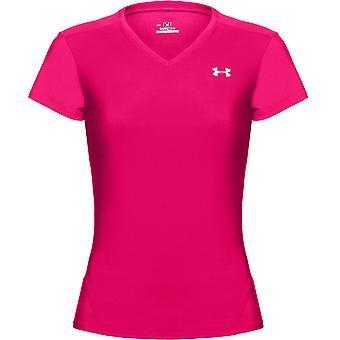 UNDER ARMOUR heatgear lyhythihainen t-paita naisten [kirkas pinkki]
