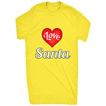 Kända jag älskar hjärtat Santa