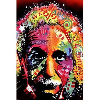Albert Einstein - Dean Russo affisch affisch Skriv