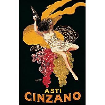 Asti Cinzano plakat Print af Leonetto Cappiello (24 x 36)